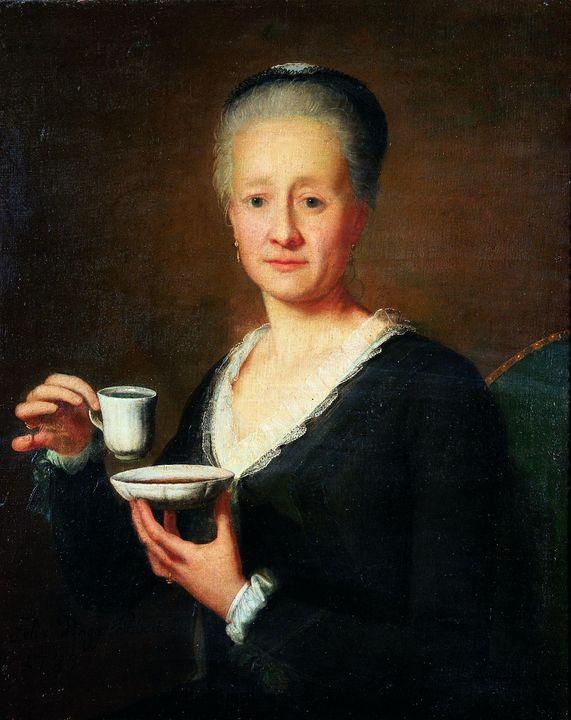 Felix Maria Diogg~Portrait of a coff - Old master