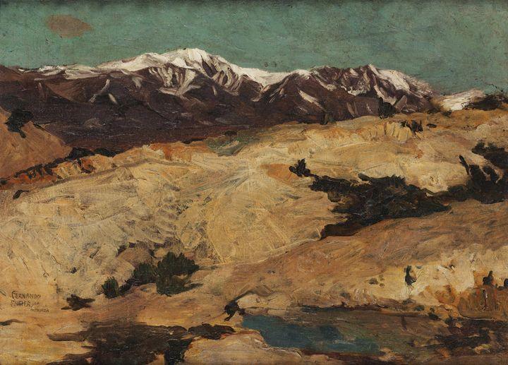 Fernando Fader~Nas colinas - Old master
