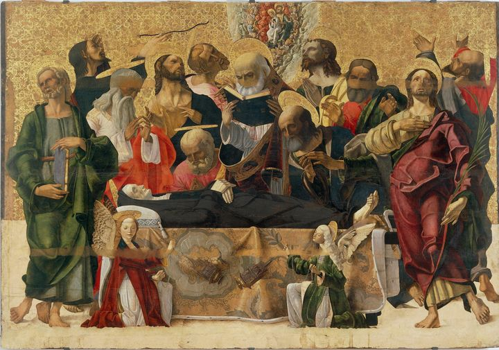 Ferrarese painter~The Dormition of t - Old master