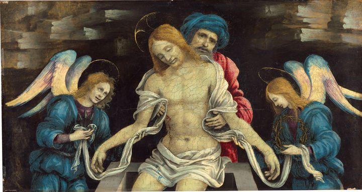 Filippino Lippi~Pietà (The Dead Chri - Old master
