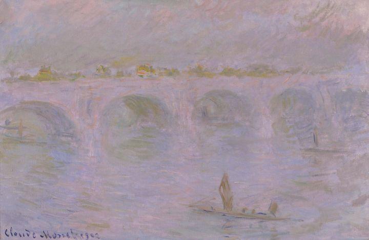 Claude Monet~Waterloo Bridge in Lond - Old master