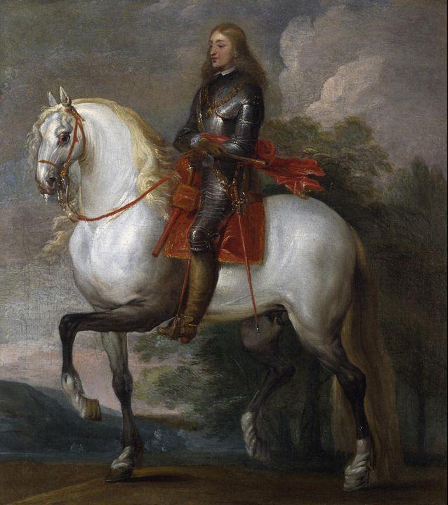Flemish~King Carlos II of Spain - Old master