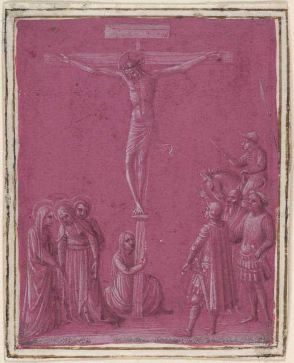 Fra Angelico~Crucifixion - Old master