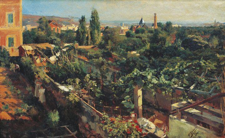 Francesc Gimeno~The Grapevines - Old master