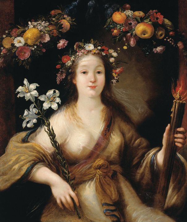 Claude Vignon~Flora - Old master
