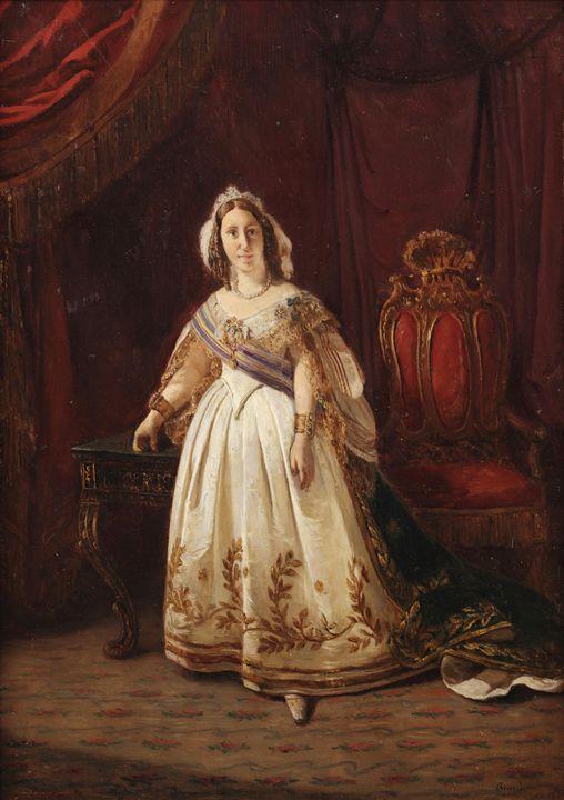 Francois-Auguste Biard~Portrait de l - Old master