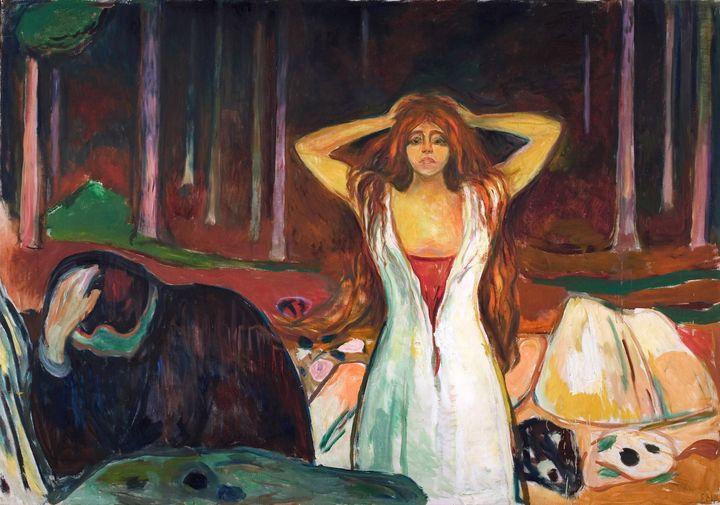 Edvard Munch~Ashes - Old master