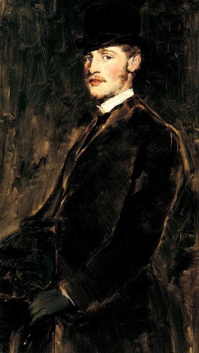 Frank Duveneck (American, b.1848, d. - Old master
