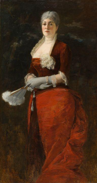 Frank Duveneck~Mary E. Goddard - Old master