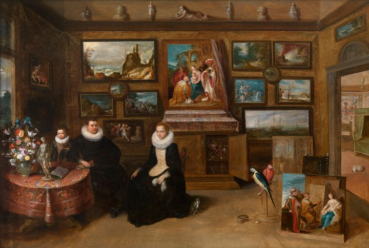Frans Francken the Younger~The Colle - Old master