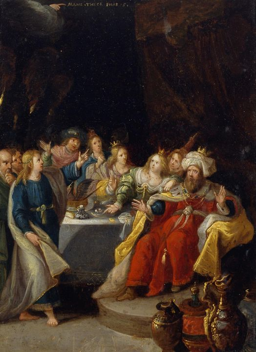 Frans Francken the Younger~The Feast - Old master