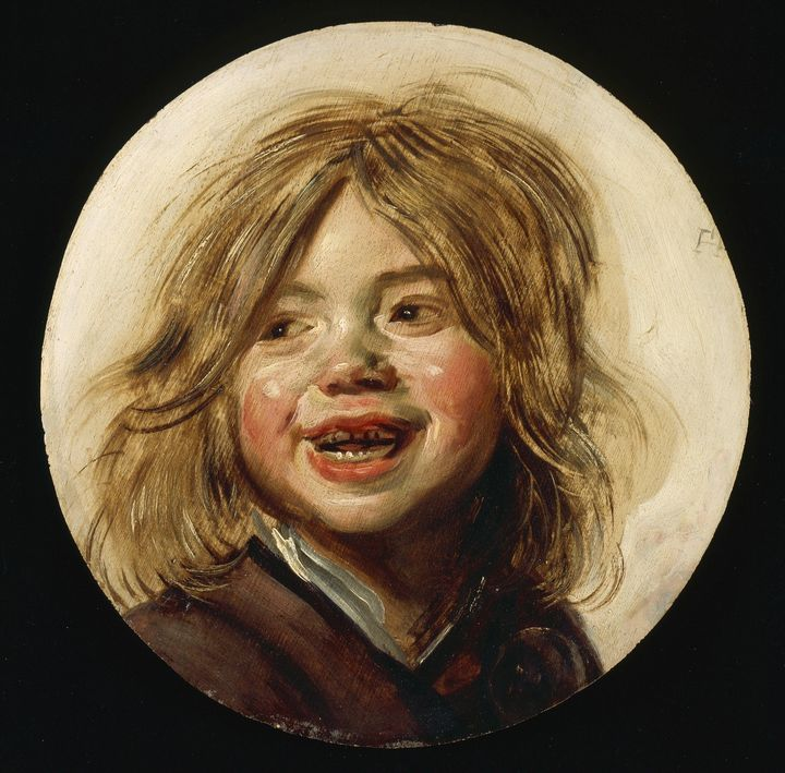Frans Hals~Laughing Child - Old master