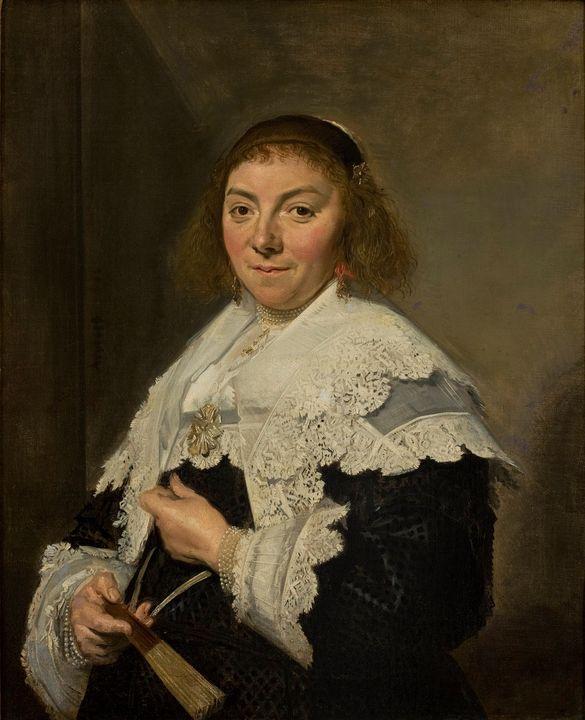 Frans Hals~Maria Pietersdochter Olyc - Old master