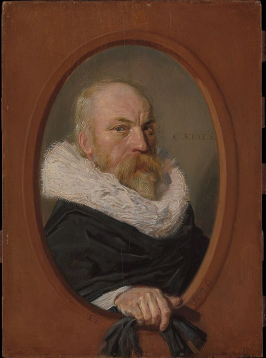 Frans Hals~Petrus Scriverius (1576–1 - Old master