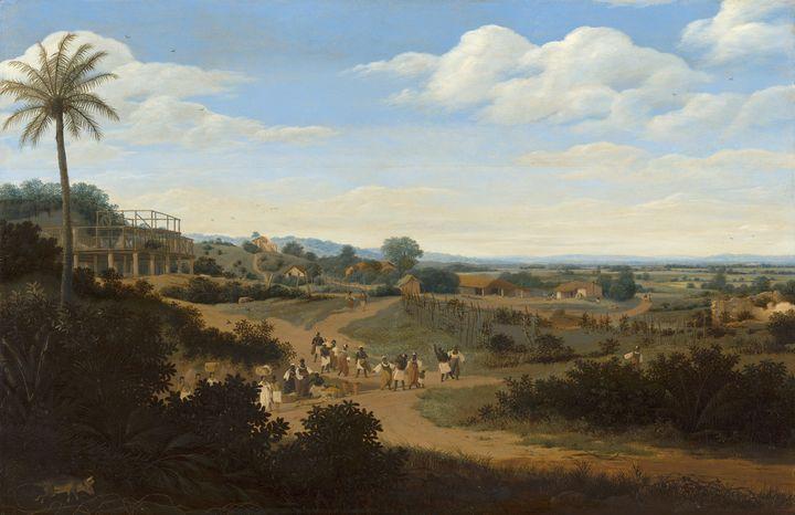 Frans Post~Brazilian Landscape with - Old master