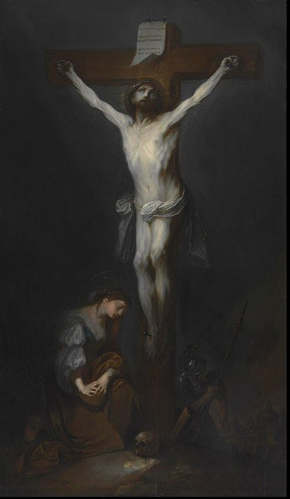Franz Anton Maulbertsch~Ukřižovaný K - Old master