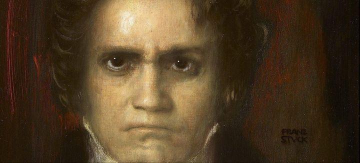 Franz Stuck~Portrait de Ludwig van B - Old master
