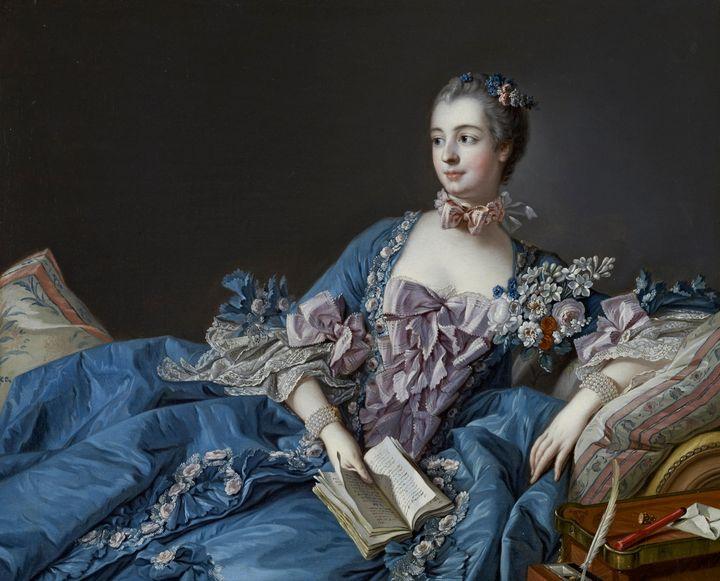 François Boucher~Madame de Pompadour - Old master