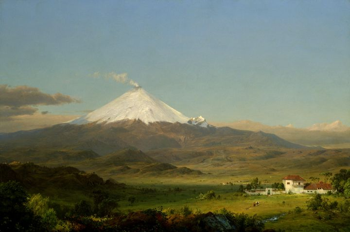 Frederic Edwin Church~Cotopaxi (2) - Old master