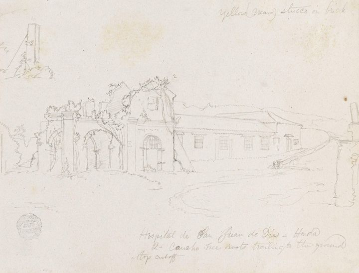 Frederic Edwin Church~Hospital de Sa - Old master