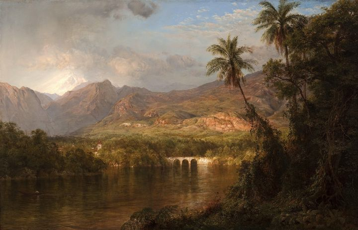 Frederic Edwin Church~South American - Old master