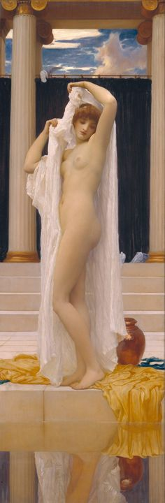 Frederic Leighton~The Bath of Psyche - Old master