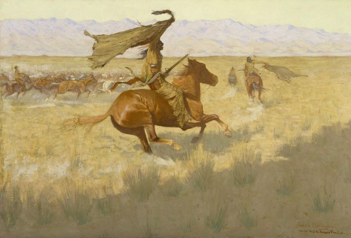 Frederic Remington~Change of Ownersh - Old master