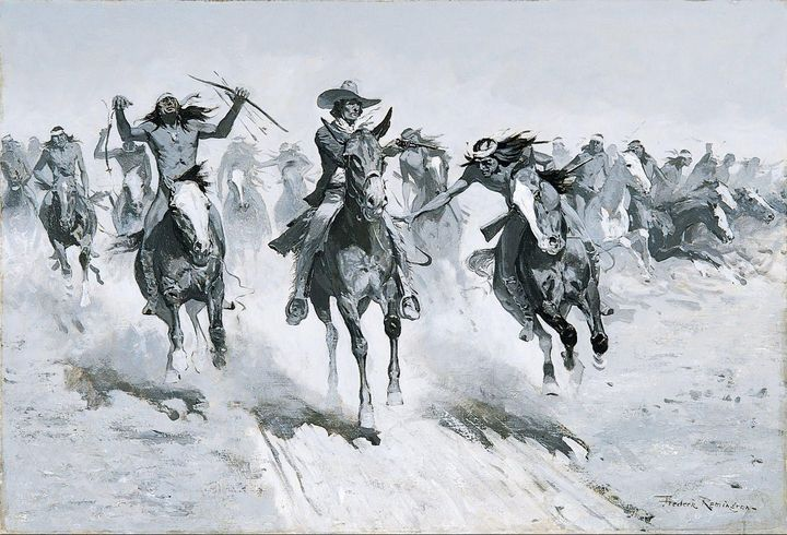 Frederic Remington~My Second Shot Se - Old master
