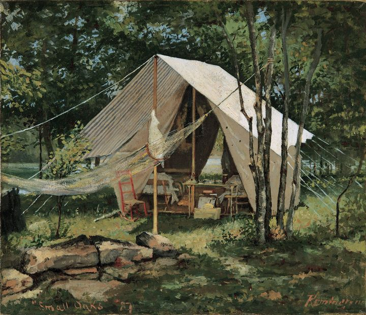 Frederic Remington~Small Oaks - Old master