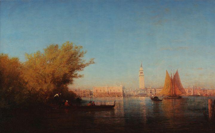 Félix Ziem~View of Venice - Old master