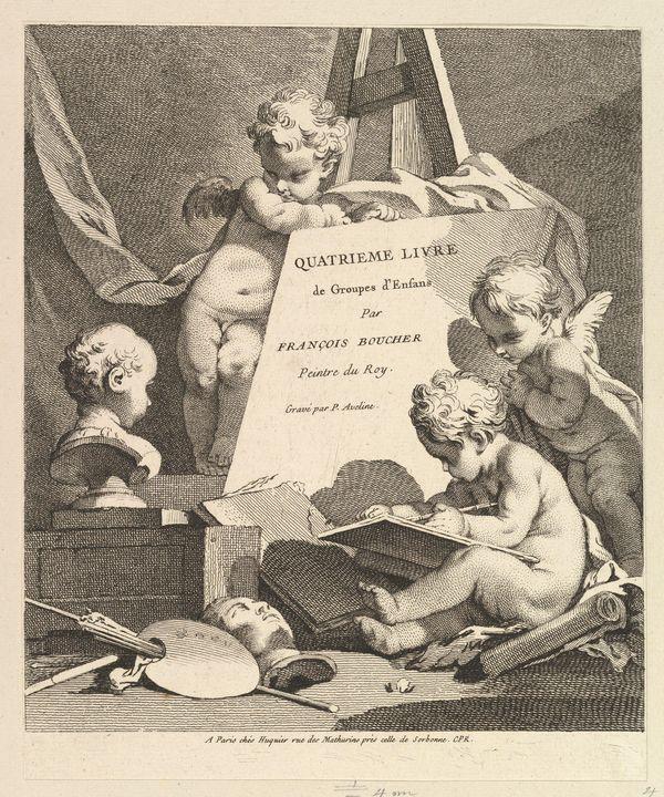 Gabriel Huquier, François Boucher, P - Old master