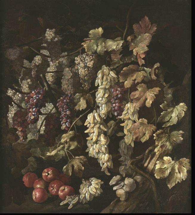Giovan Battista Ruoppolo~Still Life - Old master