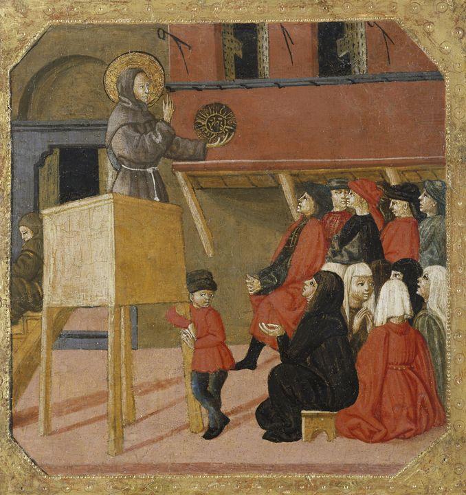 Giovanni di ser Giovanni Guidi~Saint - Old master