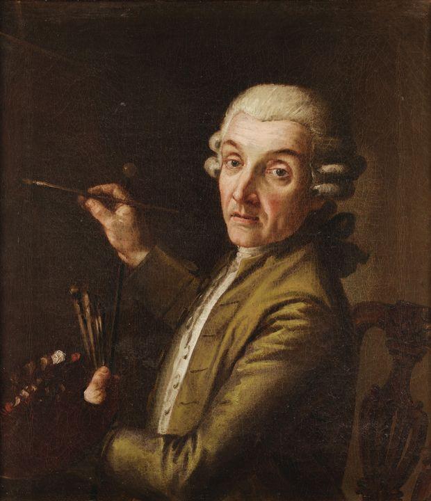Giuseppe Bottani~Selfportrait - Old master
