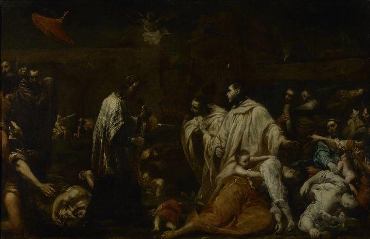 Giuseppe Crespi~Blessed Bernard Tolo - Old master