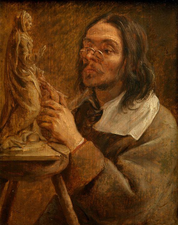 Gonzales Coques~The Five Senses visi - Old master