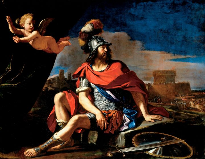 Guercino, Francesco Barbieri~Mars wi - Old master