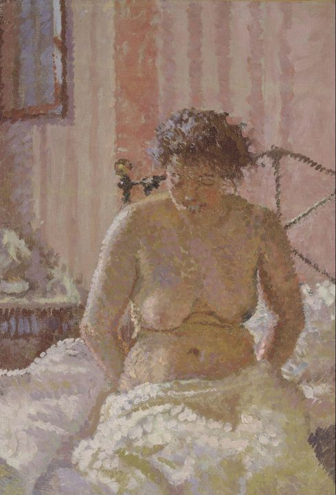 Harold Gilman~Nude in an Interior - Old master