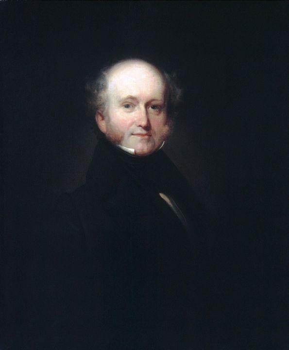 Henry Inman~Martin Van Buren - Old master