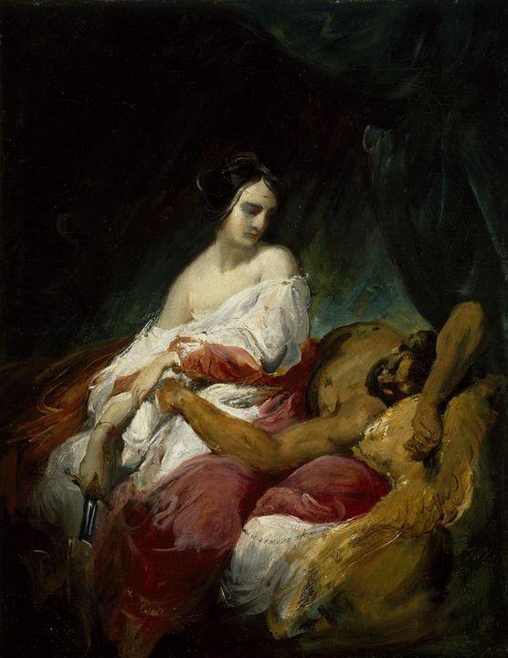 Horace Vernet~Judith and Holofernes - Old master
