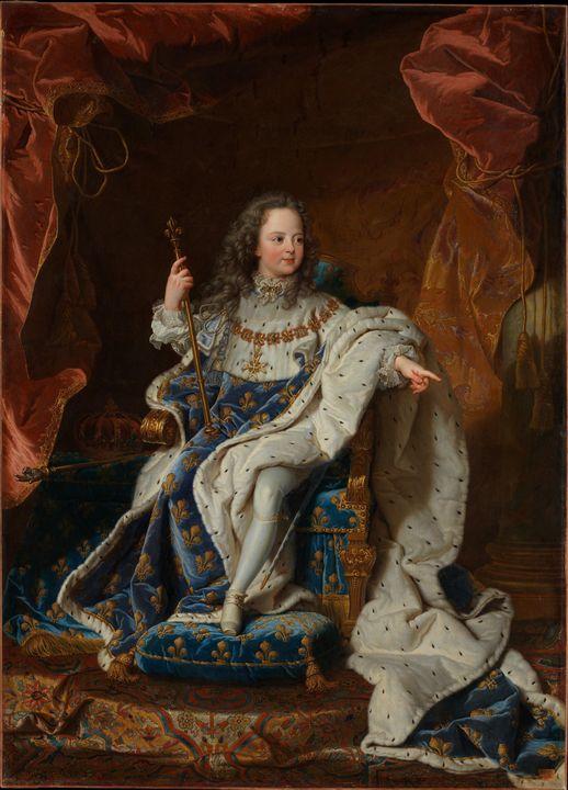 Hyacinthe Rigaud~Louis XV (1710–1774 - Old master
