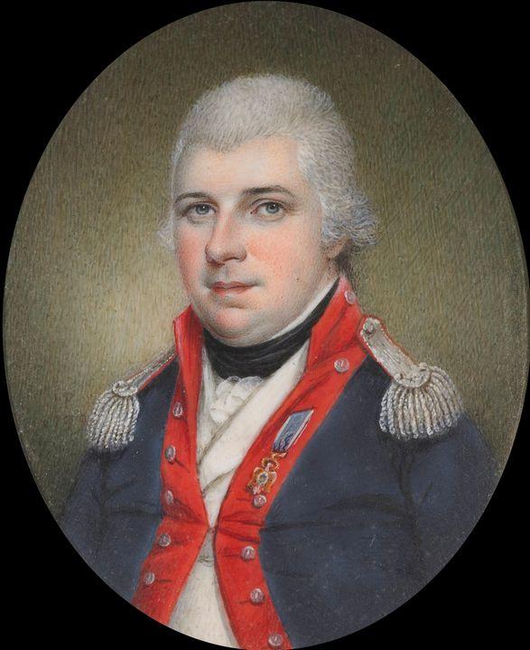 James Peale~Major Thomas Humphrey Cu - Old master