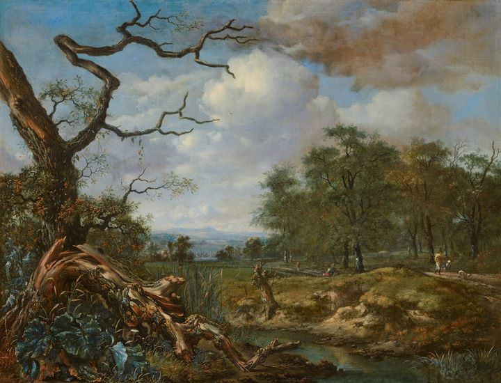 Jan Wijnants~Landscape at the Edge o - Old master