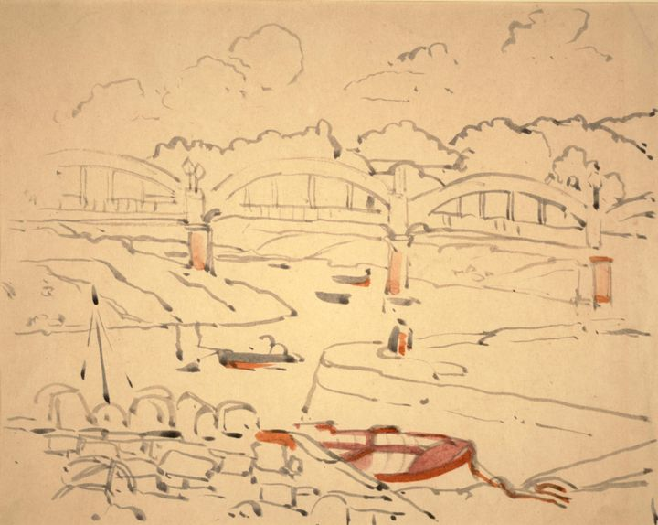 Jessie Marion King~Illustration for - Old master