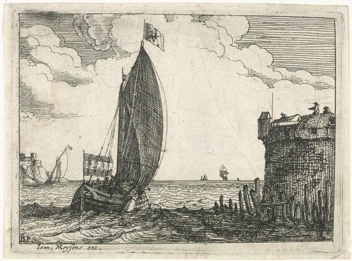 Joannes Meyssens, Bonaventura Peeter - Old master