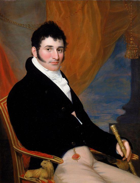 John Wesley Jarvis~Portrait of Solom - Old master