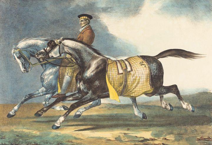 Léon Cogniet, Théodore Géricault~Two - Old master