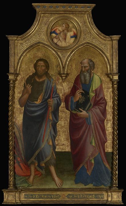 Mariotto di Nardo~Saints John the Ba - Old master