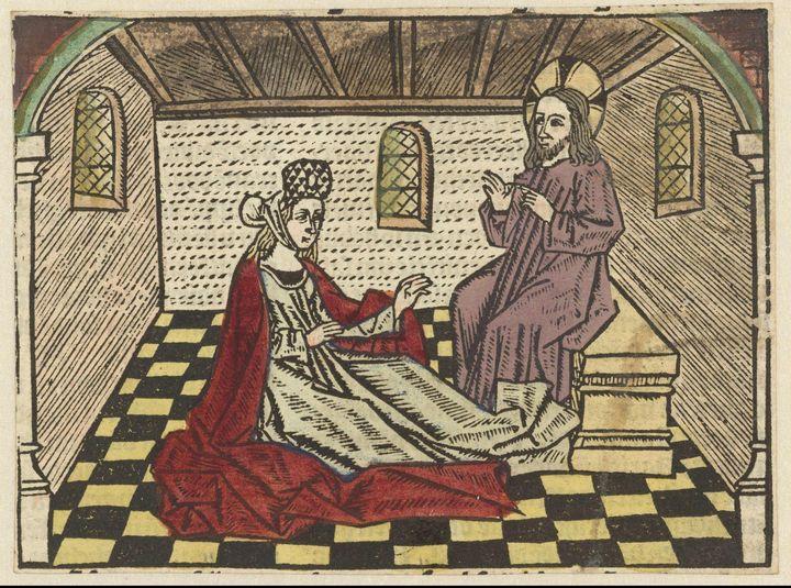 Master of the Antwerp Adoration~Mari - Old master