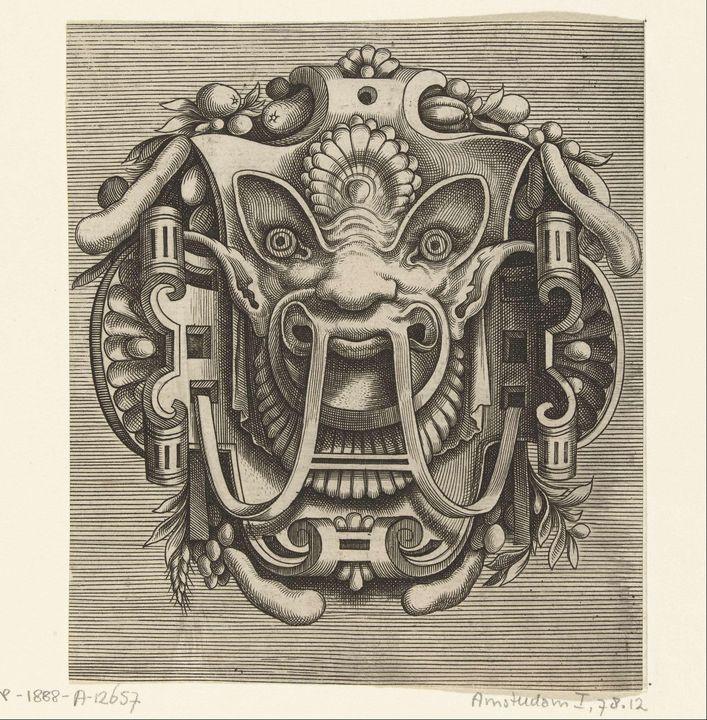 Cornelis Floris de Vriendt, Franz Hu - Old master